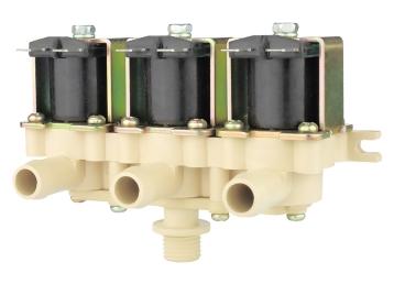 三联放水电动水阀