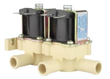 双联放水电动水阀